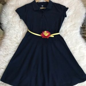 OLD NAVY young girls uniform dress